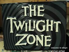 *NEW METAL SIGN* _ THE TWILIGHT ZONE__ rod serling show tv classic movie cinema