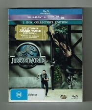 Jurassic World : Blu-ray (2-Disc Collector's Edition) Brand New & Sealed