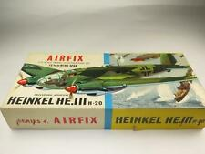 RARE Airfix Model Aircraft Kit 1/72 Heinkel He.111 German WWII Bomber Type 2 Box