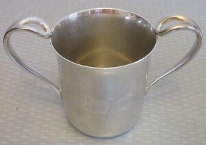 Tiffany & Co ELSA PERETTI MUG 925 sterling silver double-handle baby cup mono