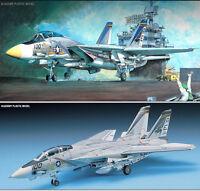 1/48 U.S. NAVY FIGHTER F-14A TOMCAT / ACADEMY MODEL KIT / #1659