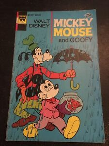 Walt Disney Mickey Mouse#157 Awesome Condition 6.5(1975) Goofy App