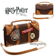 Harry Potter HOGWARTS School Badge Cross Chain Purse Handbag Body Messenger Bag