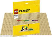 LEGO ® 10699 Classic Sandfarbene Bauplatte Sand Baseplate NEU 2015 BINSB