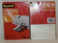 Scotch Thermal Laminating Pouches 43 X 63