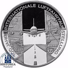 Deutschland 10 Euro Luftfahrtausstellung 2009 Silber-Gedenk-Münze Spiegelglanz