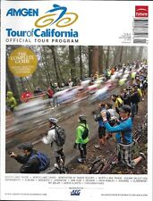 Amgen Tour of California bike magazine Official tour program Race map Riders