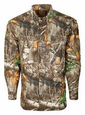 Drake  Dura-Lite  L  Long Sleeve  Men's  Collared  Realtree Edge  Shirt