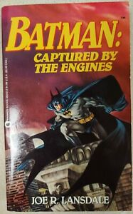 *1st Edition/1st Print!* BATMAN: CAPTURED BY THE ENGINES-Joe R. Lansdale HTF OOP