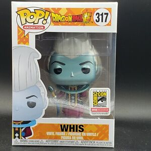 Metallic Whis Funko Pop SDCC 2018 Exclusive DBZ Rare