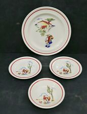 Harker Pottery Mexicana Plates/Bowl