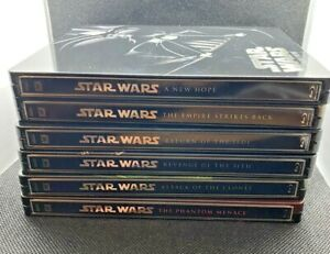 Star Wars Limited Edition Blu-ray Steelbook x 6 Ex Cond - Discs as new