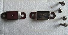 Leather Handle Brackets Tweed Amps. Nicke, 1- pair ( w- 4s)
