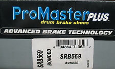 BRAND NEW PROMASTER PLUS SRB569 / 569 REAR BRAKE SHOE FITS LISTED VEHICLES