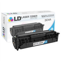 LD Compatible Replacement for HP 304A / CC531A Cyan Toner Cartridge