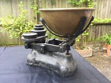 Antique Weighing Scales Weights Old Item Heritage