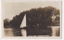 White Wings, Walton on Thames 1910 Surrey RP Postcard, B669