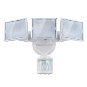 SOLLA LED Security Motion Sensor Outdoor Flood Lights, 40W 200W Incandescent to