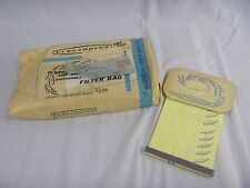 14 Vtg Genuine Electrolux Vacuum Bags New Old Stock Self Sealing
