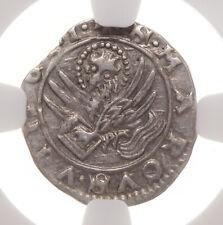 ITALY, Venice. Andrea Contarini, 1368-82, Silver Soldini, NGC AU50