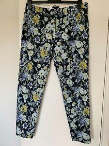 Las Mejores Ofertas En Pantalones H M Floral Para De Mujer Ebay