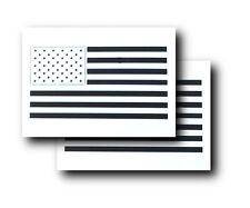 2PK SMALL Spray Airbrush Painting Stencils United States Flag Stencils American
