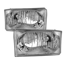 Ford 99-04 F250 F350 SuperDuty/Excursion Replacment Headlights Left+Right Set