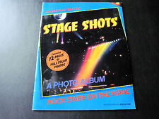 """STAGE SHOTS"" BOB ALFORD ROCK & ROLL PHOTO ALBUM VARIOS ARTISTS EX COND"