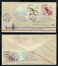 DOMINICAN Republic  -  First Flight Covers Dec. 1959 L.I., New York