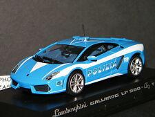 LAMBORGHINI GALLARDO LP560-4 POLIZIA ITALIENNE DE NOREV REF 760028 SCALE 1/43