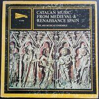 Catalan Music From Medieval & Renaissance Spain, ARS MUSICAE, JORDI SAVALL, VOX