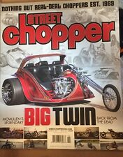 Street Chopper McMullen Legendary Big Twin Vol 46 #1 Spring 2015 FREE SHIPPING!