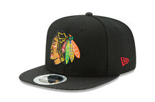 New Era Chicago Blackhawks 9Fifty NHL Snapbacks Cap (CHIBLA 950 ORIGINAL FIT)