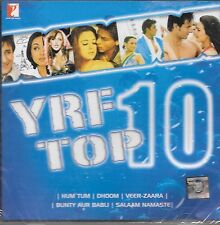 YRF TOP 10 SONGS - BRAND NEW MUSIC SOUND TRACK CD - FREE UK POST