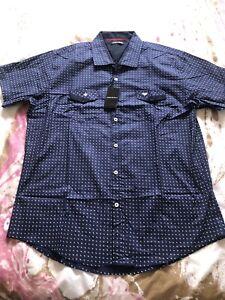 Emprio Armani Mens Shirt Size XXL New