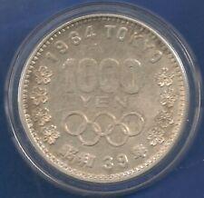 OLYMPIC GAMES.  1964 TOKYO 1.000 YEN XF silver 925