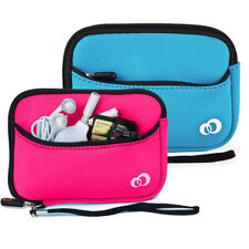 Neoprene Sleeve Travel Case Electronic Cable Power Bank Accessories Organizer