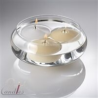 10 inch floating candle bowls