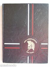 1988 PIUS X HIGH SCHOOL YEARBOOK, DOWNEY CALIFORNIA  TIARA
