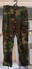 Original Vintage (late 80's) Proper Battle Camouflage Combat Trousers BNWOT NEW