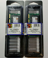 NEW Kingston 1GB Kit- 2x 512MB DDR PC2100S 266mhz CL2.5 SODIMM Laptop RAM Memory