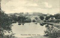 Dalton MA Wissahikin Mills c1910 Postcard