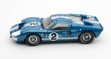 1966 FORD GT-40 MK II #2 BLUE 1/18 DIECAST MODEL CAR SHELBY COLLECTIBLES SC401