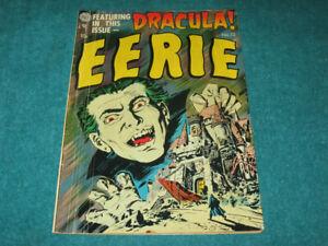 1953 EERIE #12 Avon Publications 1ST DRACULA IN COMICS Universal Horror RARE!