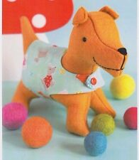 PATTERN - Spanner - Creative Cards mini PATTERN by Ric Rac - cute doggie