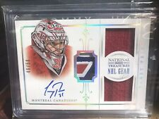 Carey Price 13/14 National Treasures NHL Gear Jersey Stick Auto Habs 46/50 3 Clr