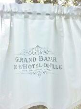 ShabbY Chic GARDINE *GRAND HOTEL* Scheibengardine VORHANG Landhaus Vintage