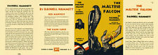 Hammett THE MALTESE FALCON facsimile dust jacket for first & early Books