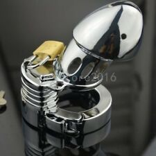 Male Heavy Duty Adjustable Stainless Steel Chastity Lock Cock Bird Cage Device