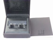 dunhill Sterling Silver 925 Rectangle Cufflinks (Excellent)